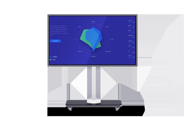 E55 55英寸智能会议平板视频会议套装多方云会议