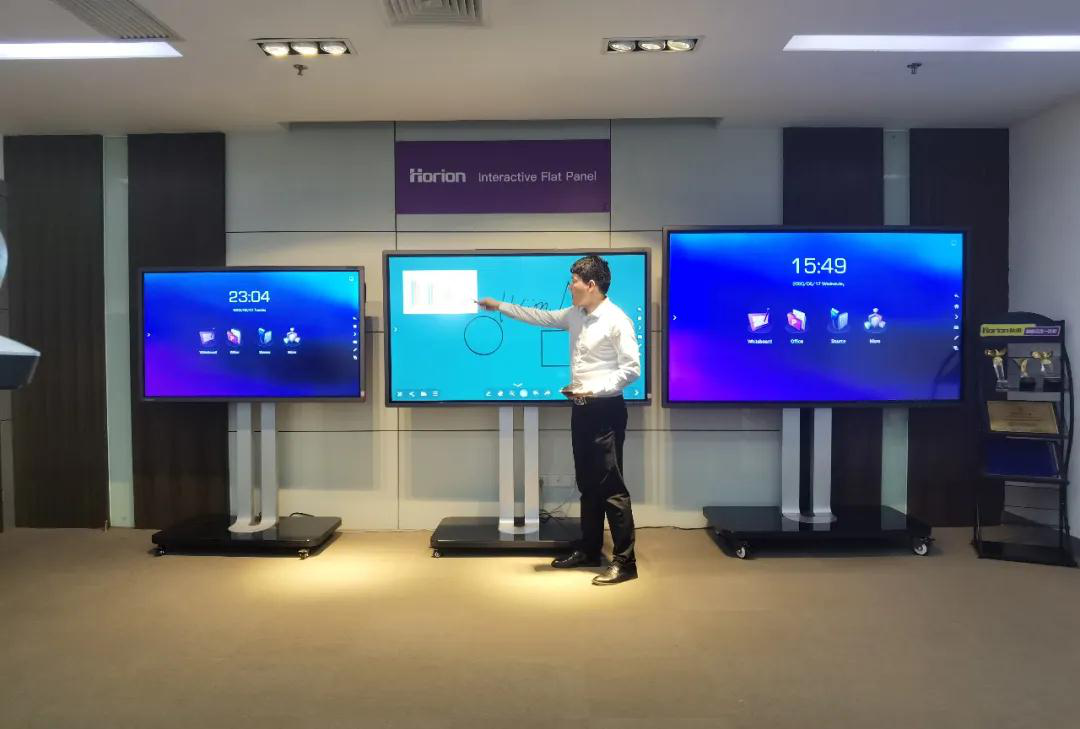 Horion Interactive Flat Panel in The First Online Canton Fair
