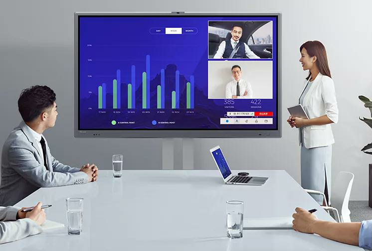 Horion Interactive Flat Panel M3A Appeared at the DES in Spain