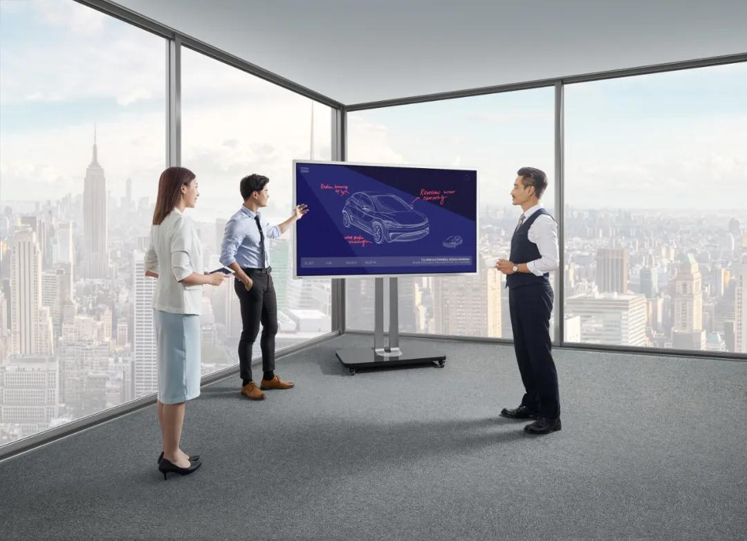 2021商显市场销售额将达604亿元,交互式电子平板是重点