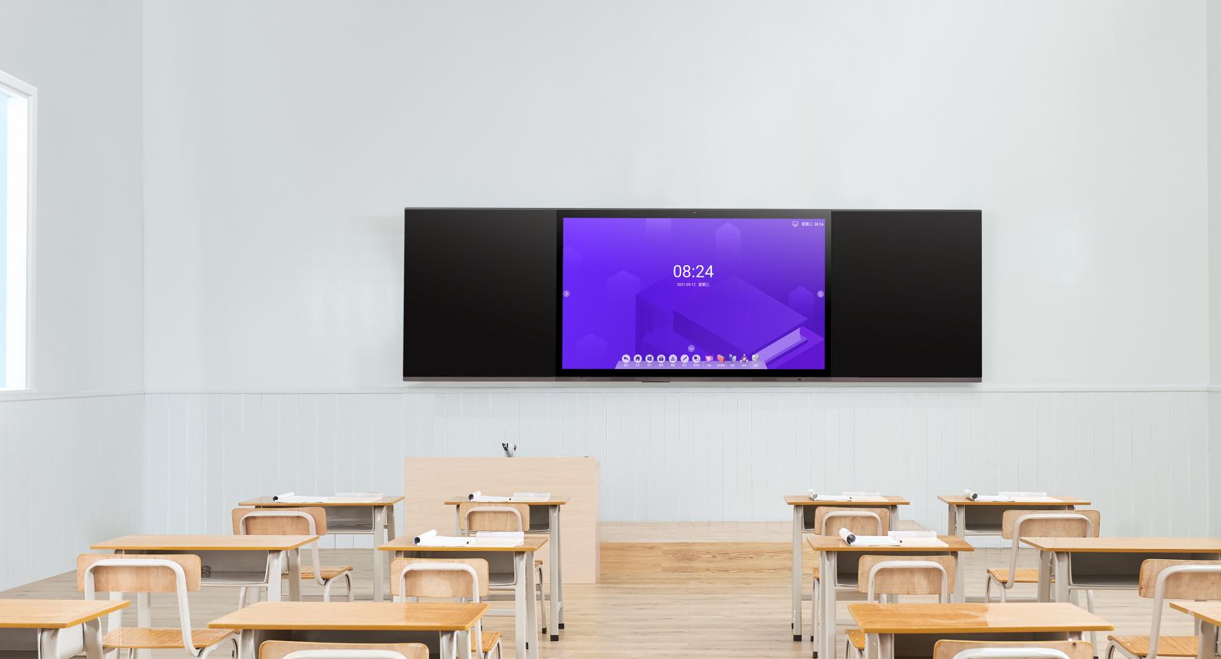 多媒体教学黑板怎么用 多媒体黑板一体机安装步骤?