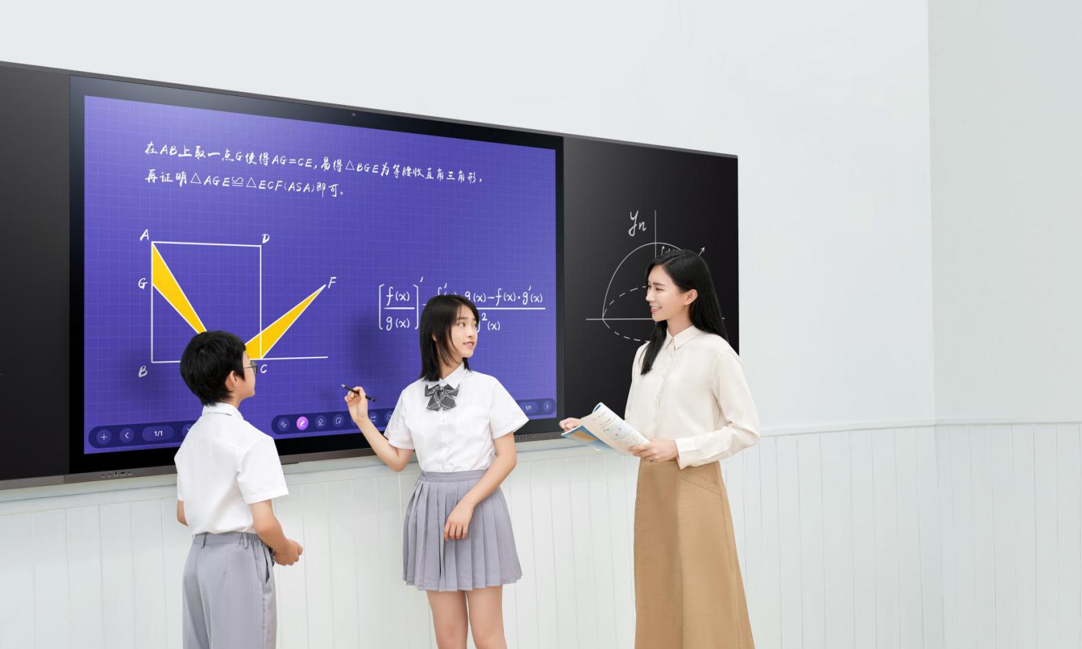 屏幕丨尺寸丨配置-教学触摸一体机价格受什么影响?