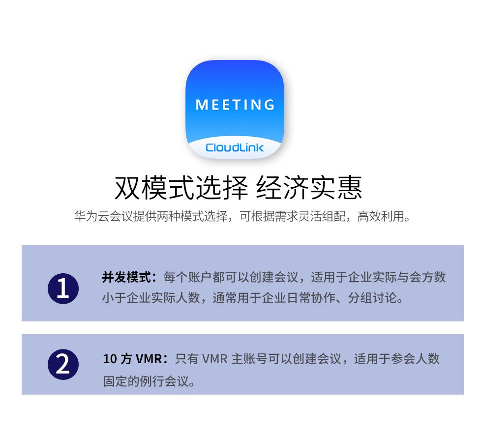 博亚体育华为云双模式选择 每个账号可创建会议室 经济高效