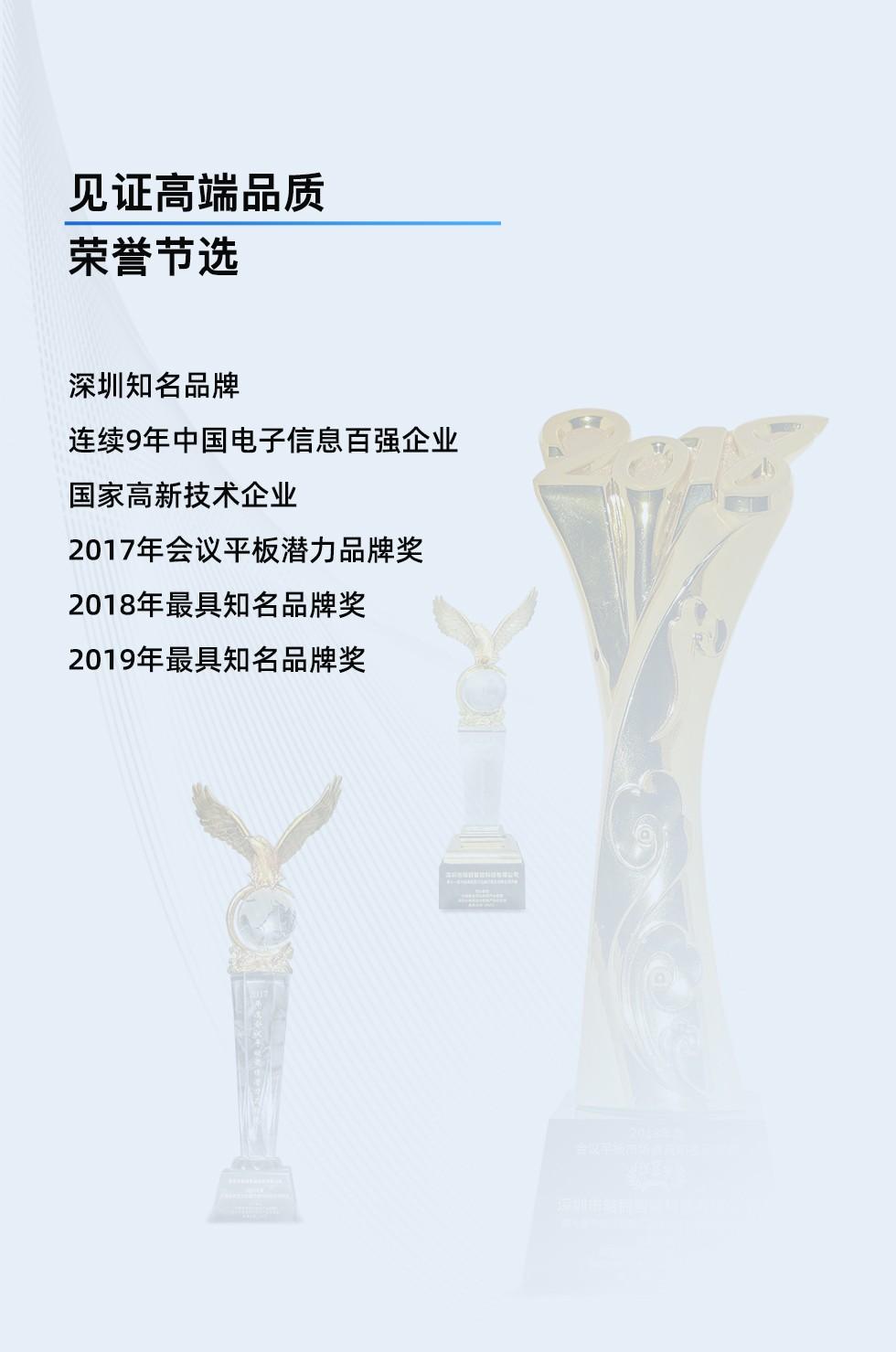 博亚体育HC-3摄像头荣誉证书 博亚体育深圳知名品牌