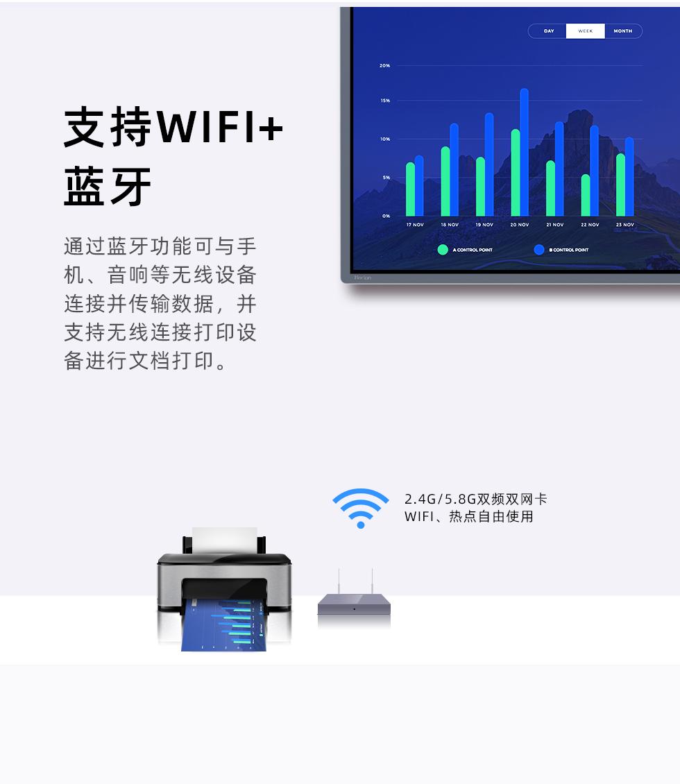 WiFi 蓝牙 无线链接 双卡双频